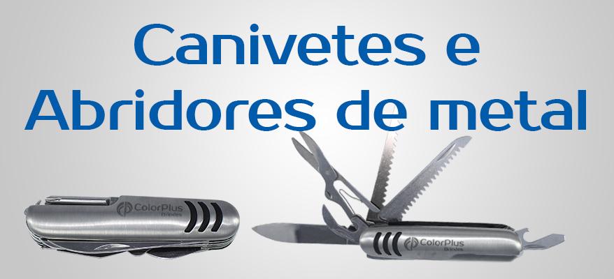 Canivetes e Abridores de Metal