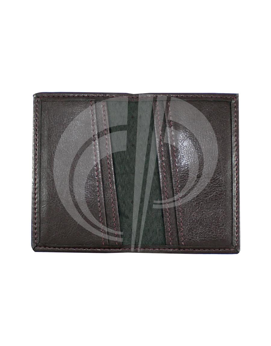 Porta cartão com 4 divisões interna