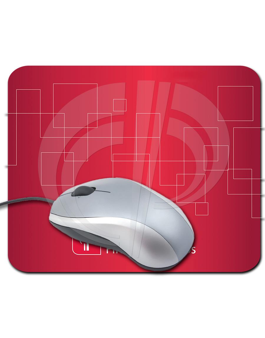 Mouse Pad Retangular em Off-set