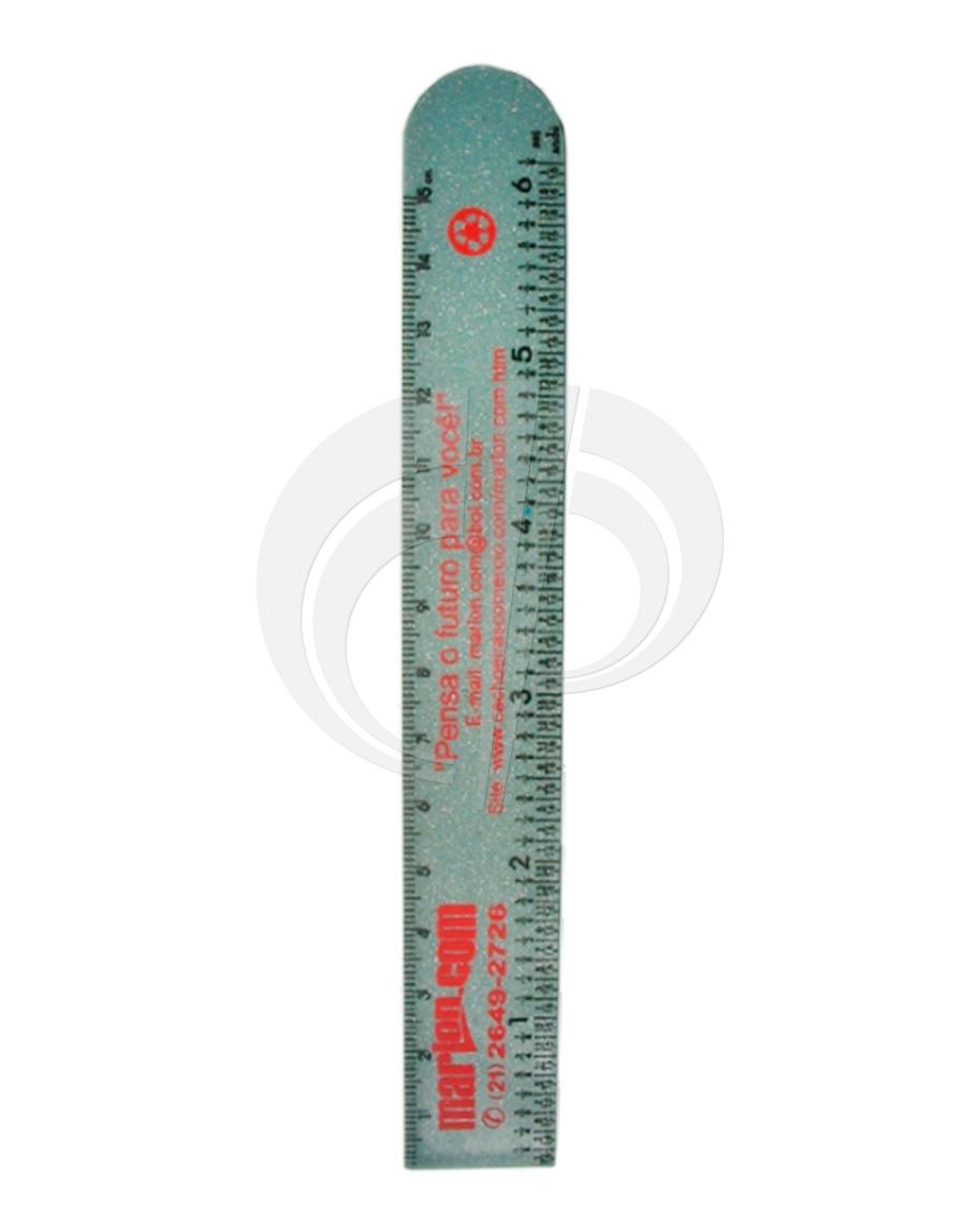 Régua de 15cm tipo Ferragista