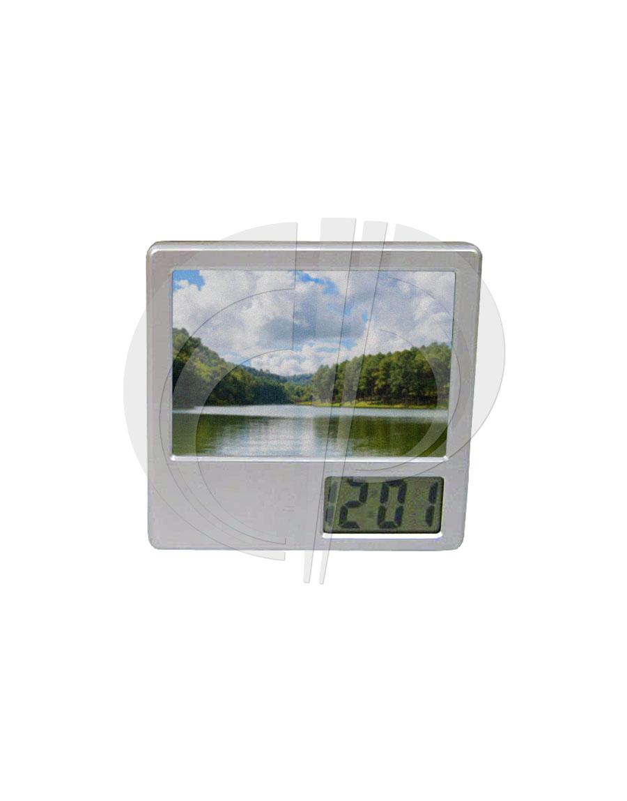Relógio c/ porta foto