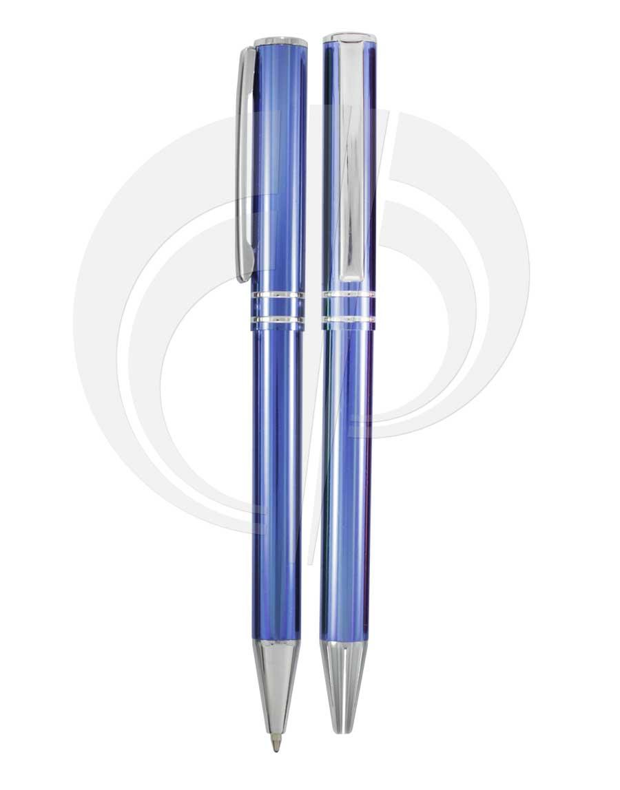 Caneta esferográfica metálica