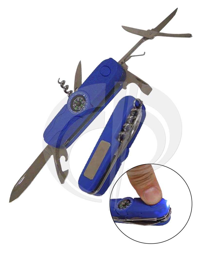 Canivete em plástico 6 funções