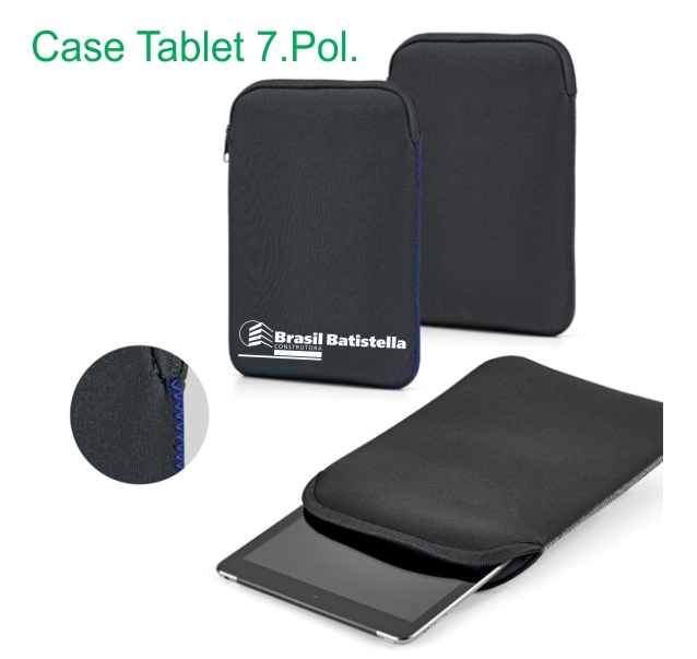 Case p/Tablet 7 polegada material Soft shell