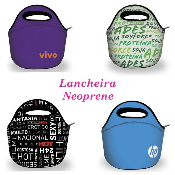 5a762cddb Lancheira Térmica em neoprene c/zipper